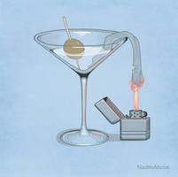 Classy molotov cocktail by Naolito