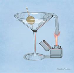 Classy molotov cocktail
