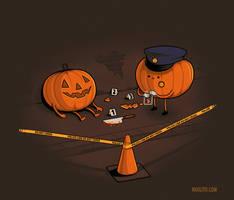 Crime Scene by Naolito