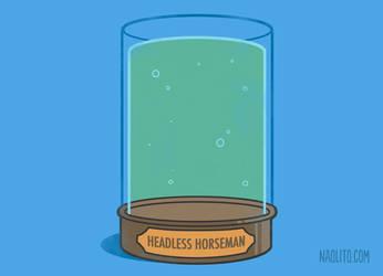 Headless horseman's Jar by Naolito