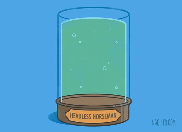 Headless horseman's Jar