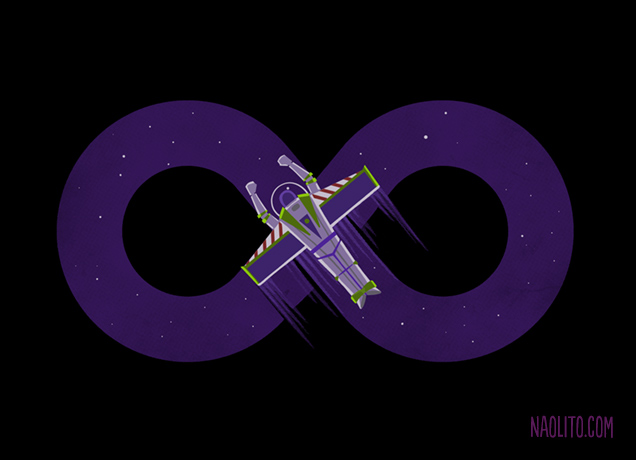 To Infinity and Beyond! by Naolito
