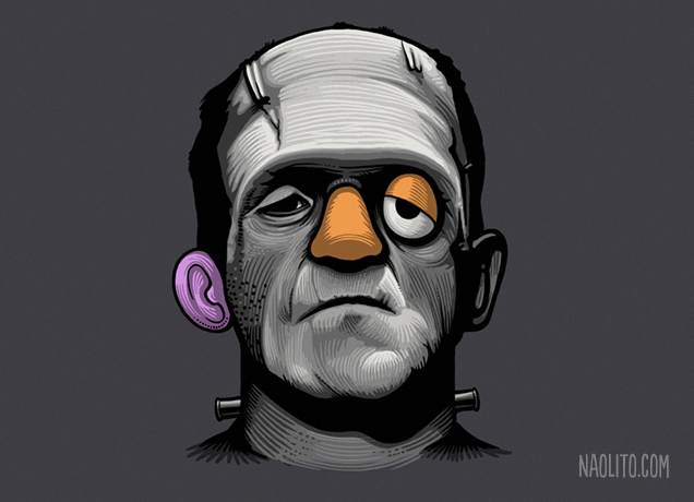 Mr Frankie Head by Naolito