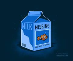 Missing fish by Naolito