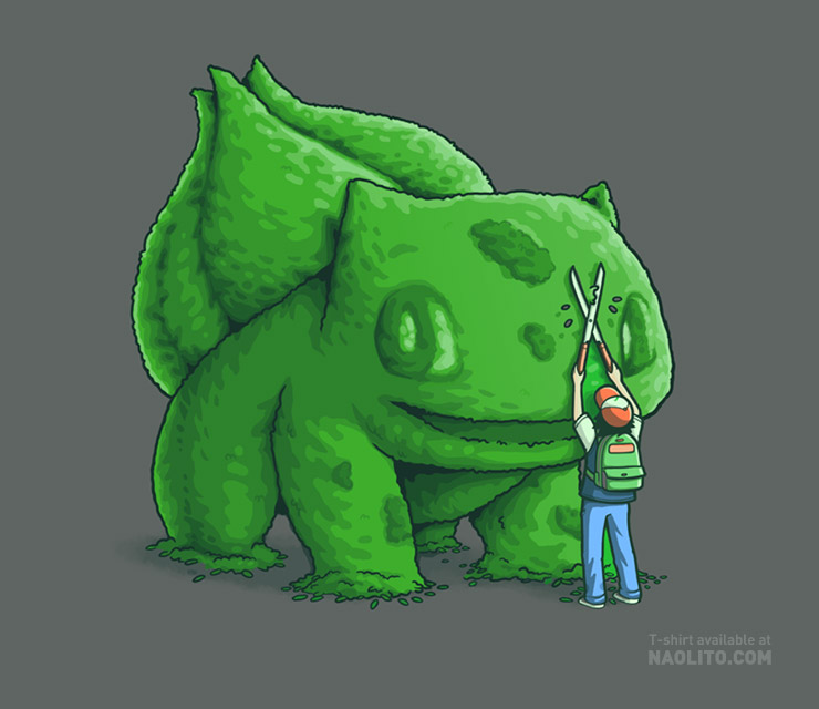 Plant type monster by Naolito