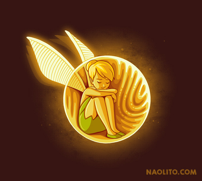 Inside the golden snitch