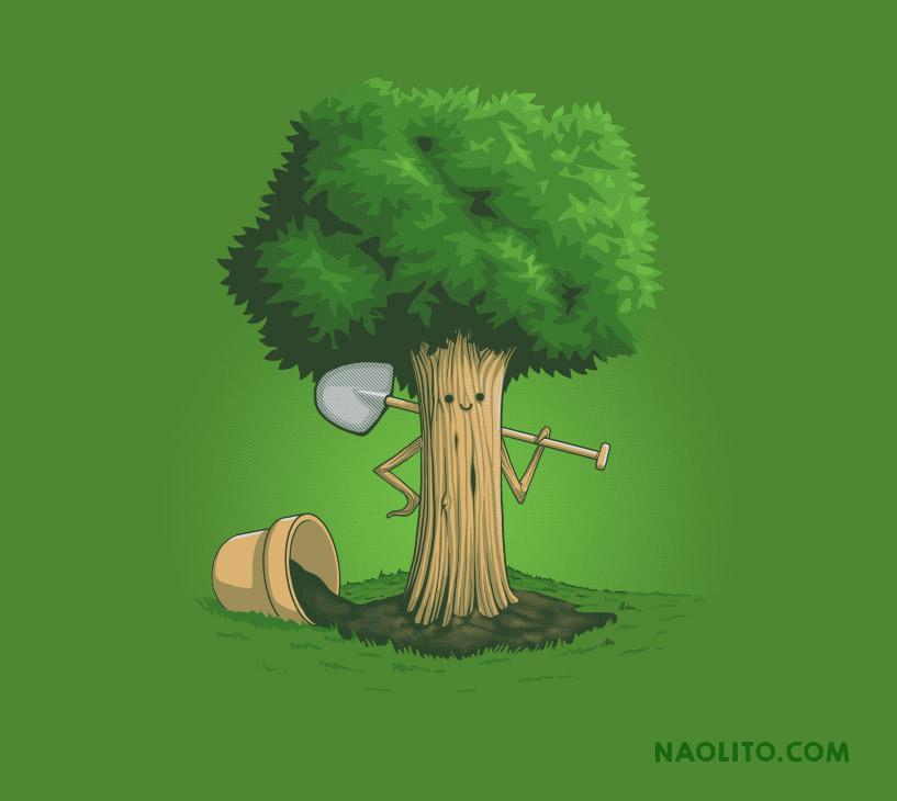 Plant a Tree by Naolito