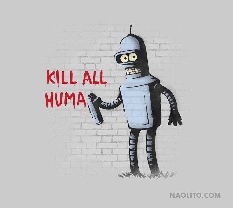 Kill All Humans by Naolito