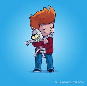 Bender Needs Love Too!