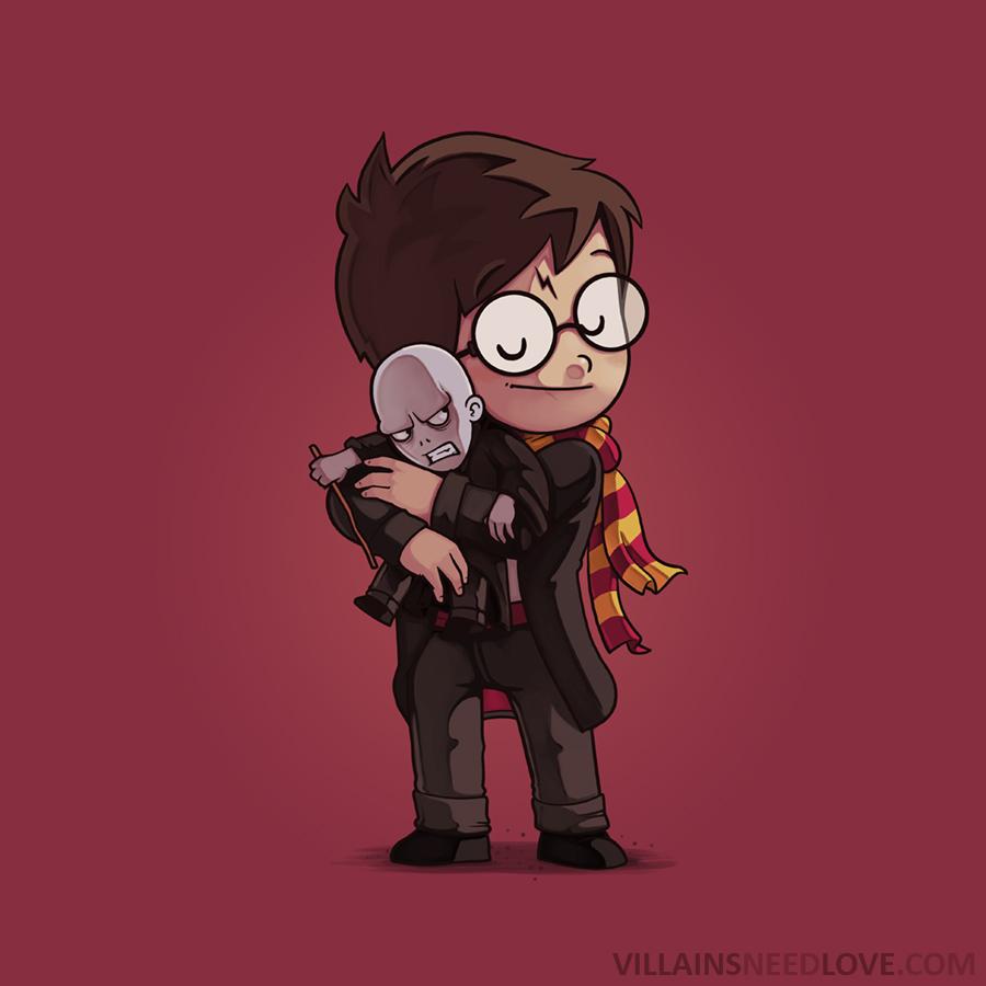 Voldemort Needs Love! by Naolito