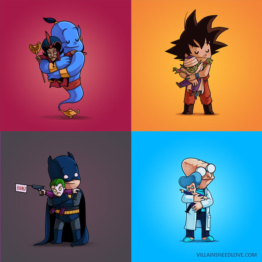 Villains Need Love! pack 3 by Naolito