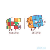 Before/after Coffee