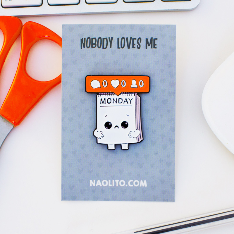 Nobody Loves Monday by Naolito