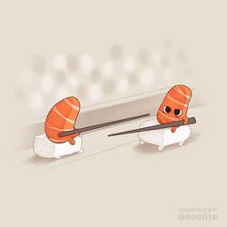 Sushi Jousting