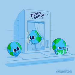 Earth Photo Booth