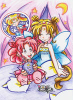 The Legendary Sailor Senshi by bchan