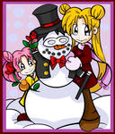 Tuxedo Snowman