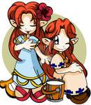 Marin and Malon