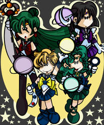 Outer Senshi Planet Attack