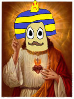 Escarfot-Jesus by DrawTheLegend