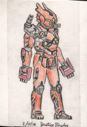 The Orange Robot A.K.A Steel Devil by JUSTinnator4