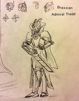 Braxxian Administrator Tradd concept