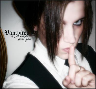 Vampires will never hurt you by velvet-gunner