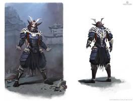 Mortal Kombat X - Samurai Shinnok by Eleeron