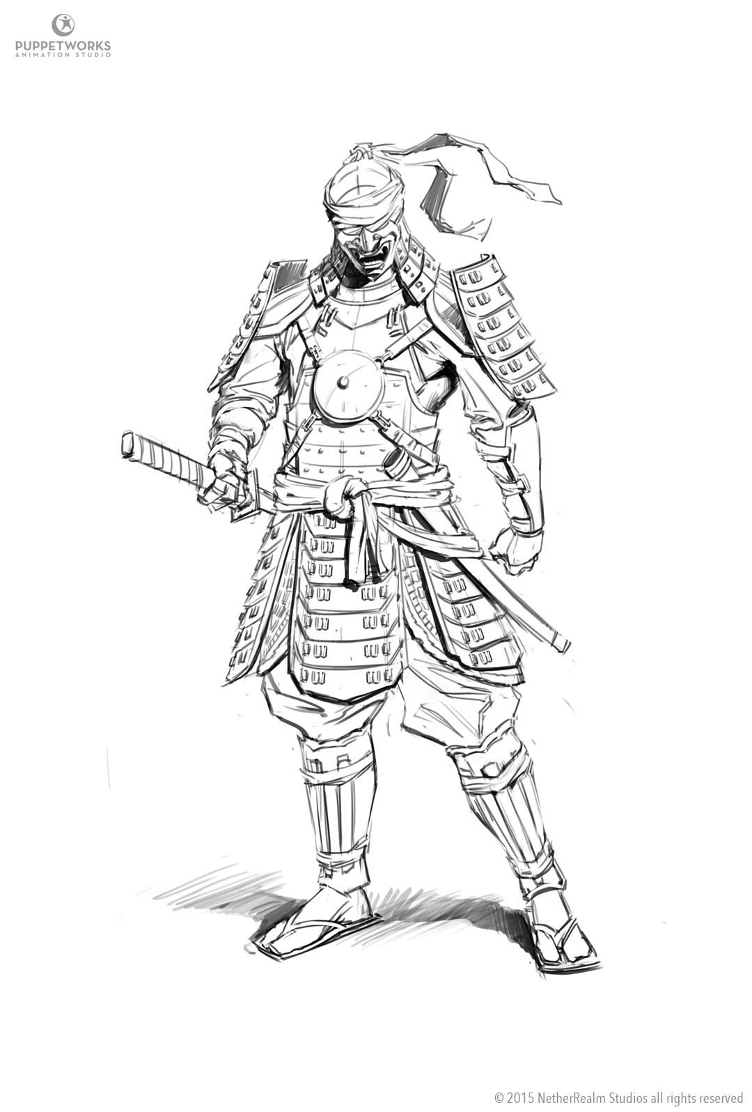 Mortal Kombat X Kenshi By Eleeron On Deviantart