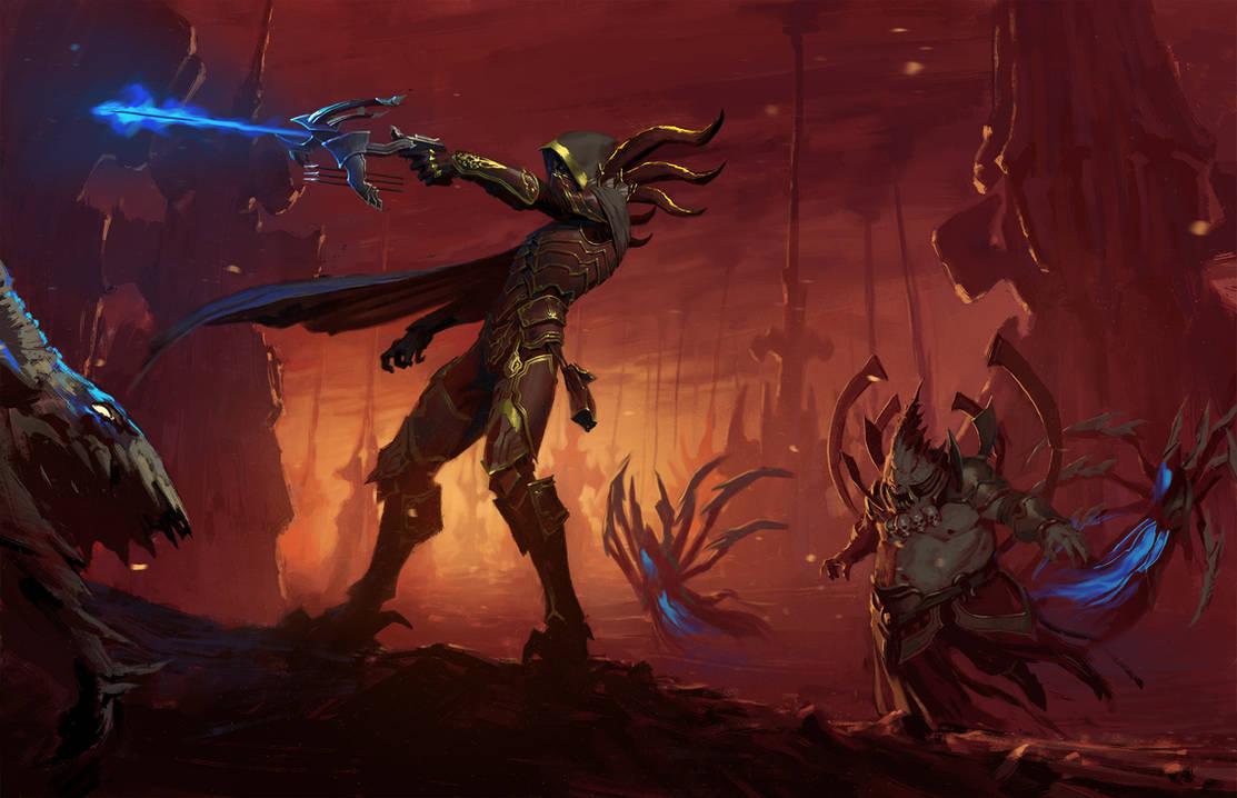 Diablo III Demon hunter by Eleeron