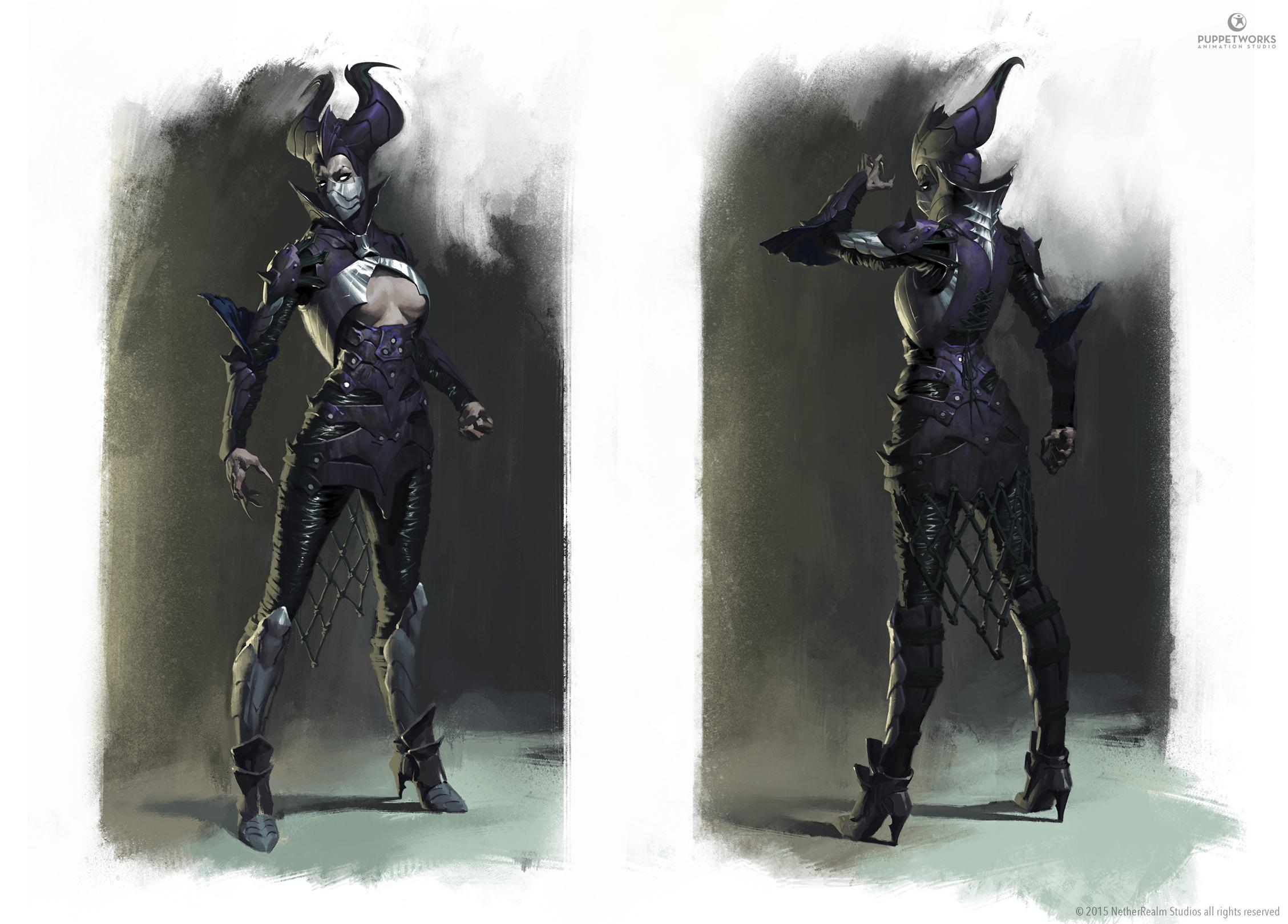 Mortal Kombat X - Dark Empress Kitana by Eleeron