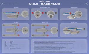 U.S.S Daedalus Multi View