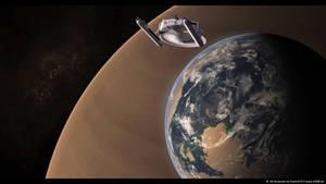 TOS Miranda Class Explores a Planet by Sven1310