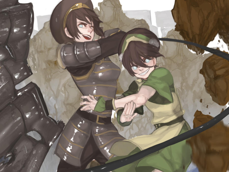 Toph and Toph by gyehu
