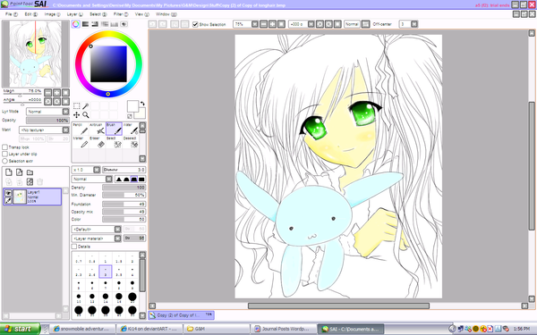 Paint tool sai xd by ki14 on deviantart Art design software