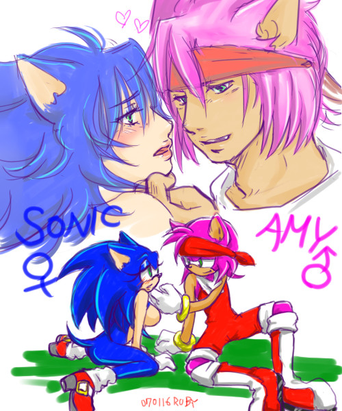 Amy And Sonic......? By Shanghairuby On DeviantArt