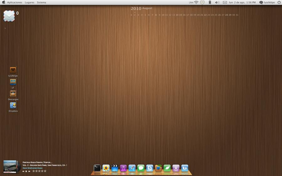 August Desktop by luisperu9