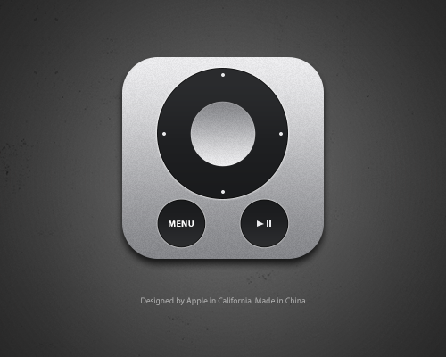 Apple Remote by luisperu9