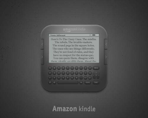 Amazon Kindle Icon by luisperu9