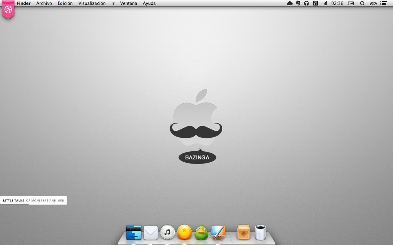 Bazinga Desktop by luisperu9