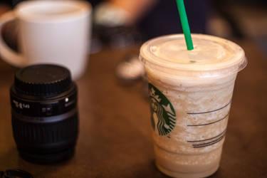 The Starbucks shot