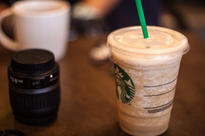 The Starbucks shot by luisperu9