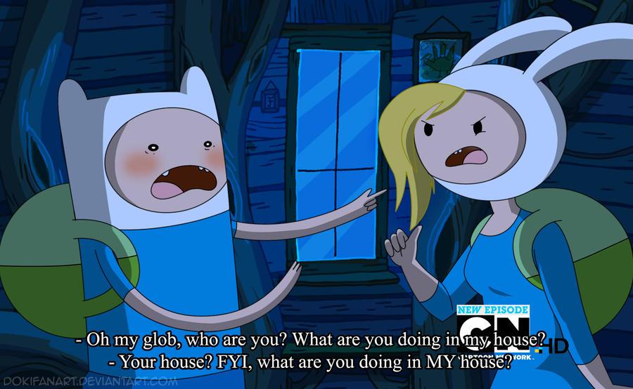 Adventure Time Finn and Fionna Anime