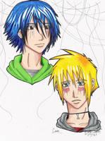 kajina's BL characters by miyavi133