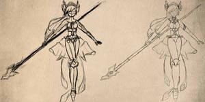 Gwen -work process-