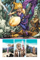 Sword of Sorcery #0 p20 by MBirkhofer