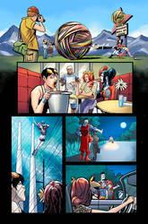 Harley Quinn Road trip. pg 33 by MBirkhofer