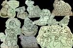 Muppet Sketch Scraps