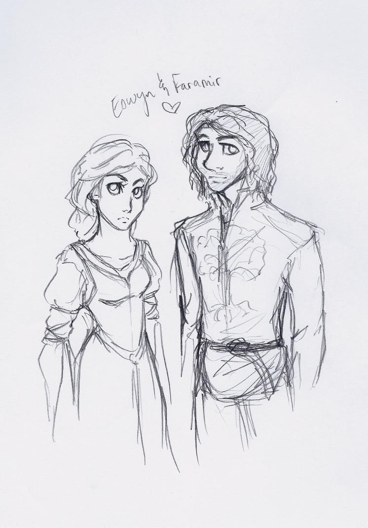 Eowyn+Faramir by ArtisteFish