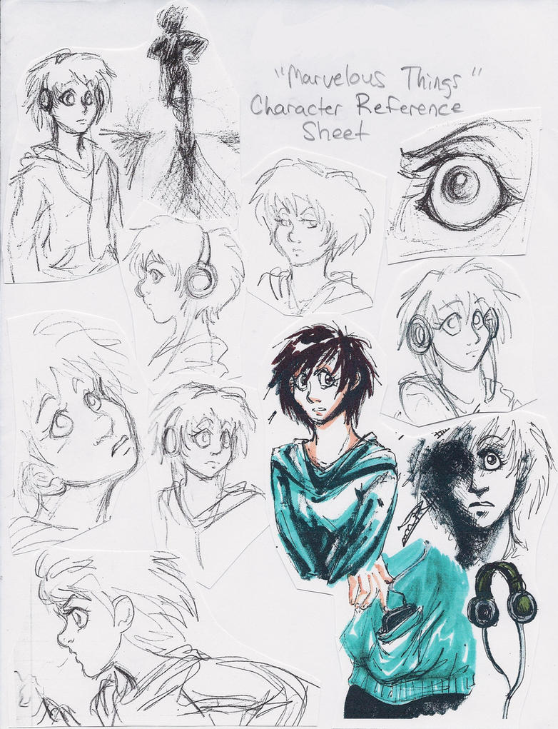 D Artiste Character Design Download : Character reference sheet by artistefish on deviantart